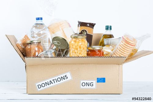 Your food donation can make their lives more happy